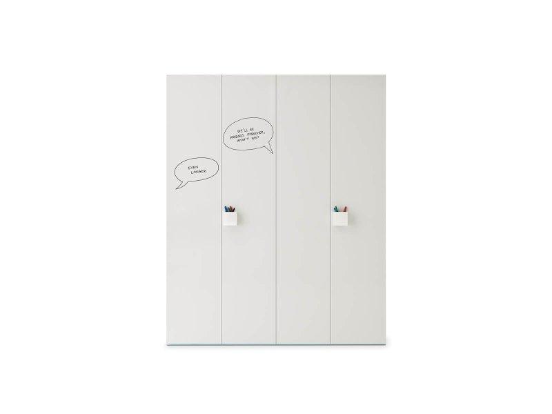 Wardrobe with Graphic hinged door