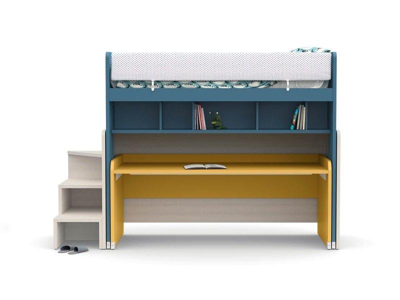 Shaped sliding desk